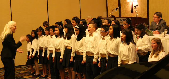Photo of the Mercer Choir