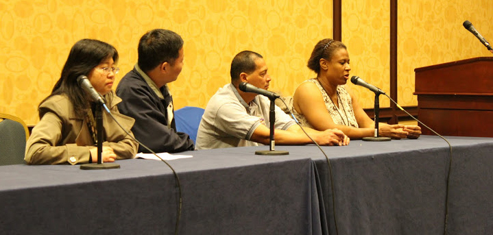 Another Photo of Parent Panel at 2012 Conference