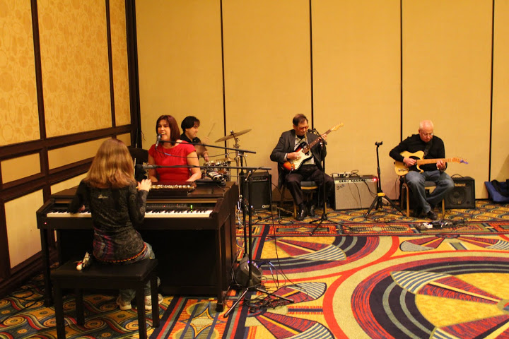 Photo of The Cheeseballs playing at a Welcome Reception