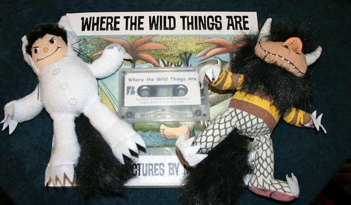 Photo of Where the Wild Things Are dolls and tapes