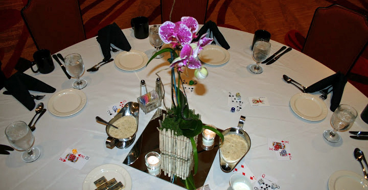 Photo of Banquet Table Settings