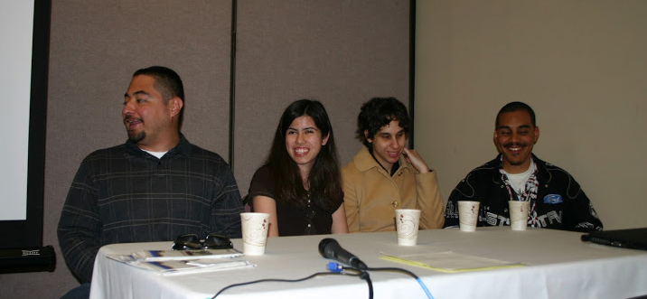 Photo of Student Panel at 2011 Conference